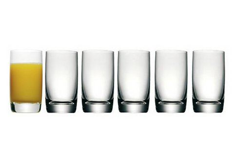 Glasserie, WMF, 'Easy', set van 6