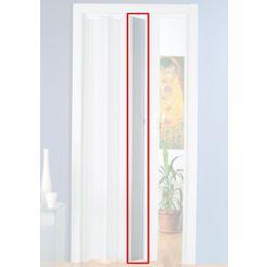 extra deur »luciana«, extra lat voor vouwdeur, bxh: 15x202 cm, kan worden ingekort wit