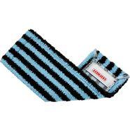 leifheit dweilovertrek »profi outdoor gefaltet« wischbezug (mikrofaser, 42x 1-tlg.) blauw