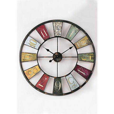 Wandklok Wheel
