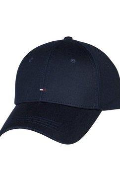 tommy hilfiger baseballcap »classic bb cap« blauw