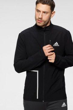 adidas performance runningjack adidas own the run soft shell jacket men zwart