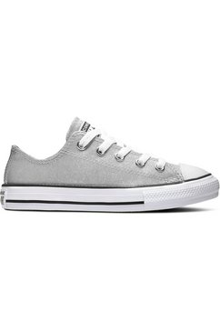 converse sneakers chuck taylor all star coated glitte zilver