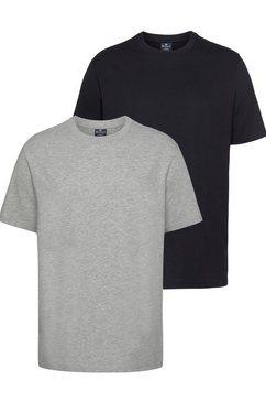 champion t-shirt »2pack crew-neck« (set van 2) grijs