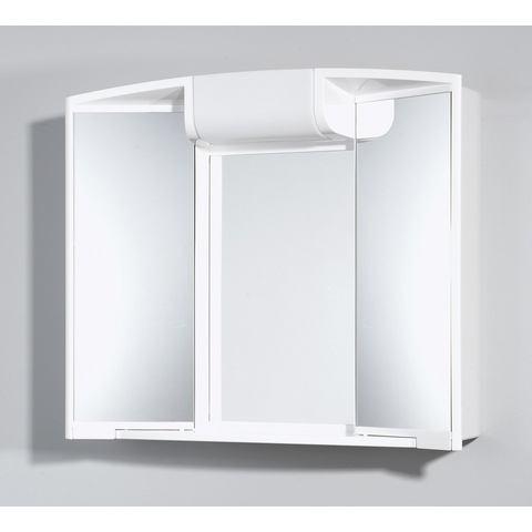 kast witte badkamer spiegelkast 71