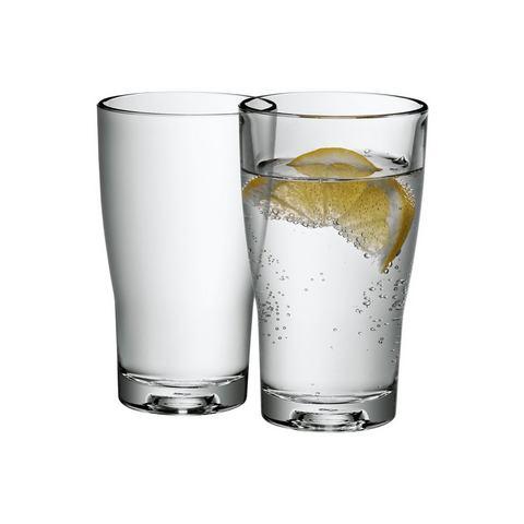 Waterkaraf of glazenset, 2-delig, WMF, 'Basic'