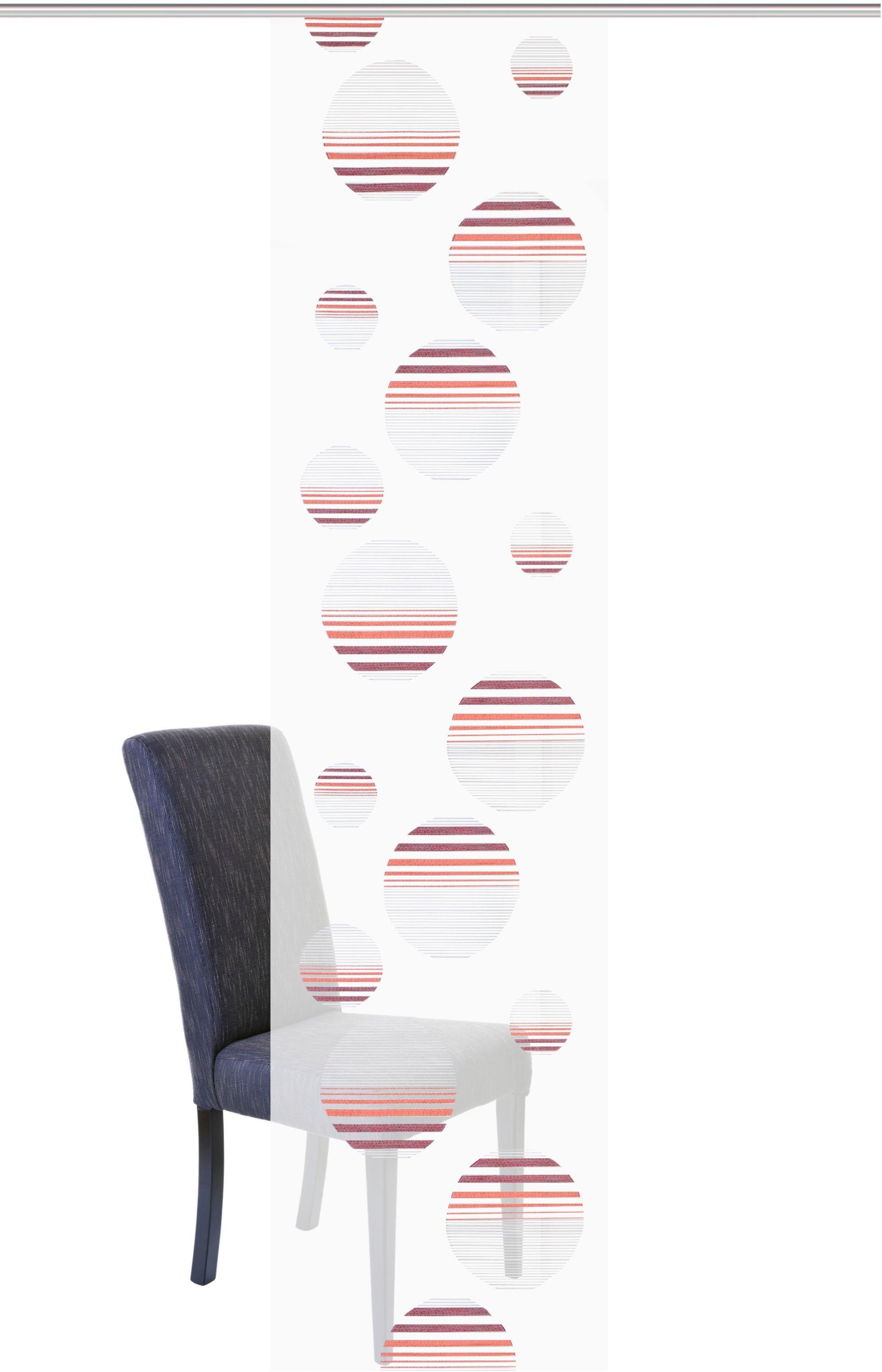 HOME WOHNIDEEN paneelgordijn CAPLIA HxB: 245x60, linnenstructuur (1 stuk) veilig op otto.nl kopen