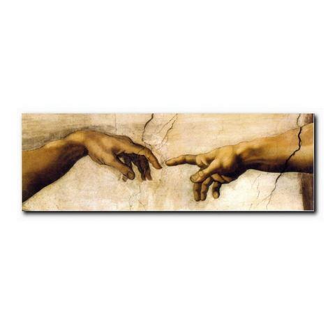 XXL-artprint, PREMIUM PICTURE, 'Handen', 150x52 cm