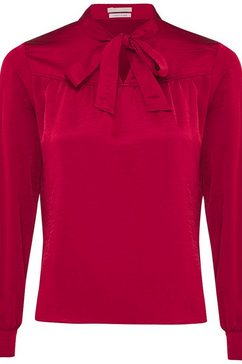 mexx satijnen blouse rood