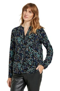 tom tailor gedessineerde blouse zwart