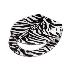adob toiletzitting »zebra« wit