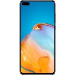 huawei smartphone p40, 128 gb, 24 maanden fabrieksgarantie zilver
