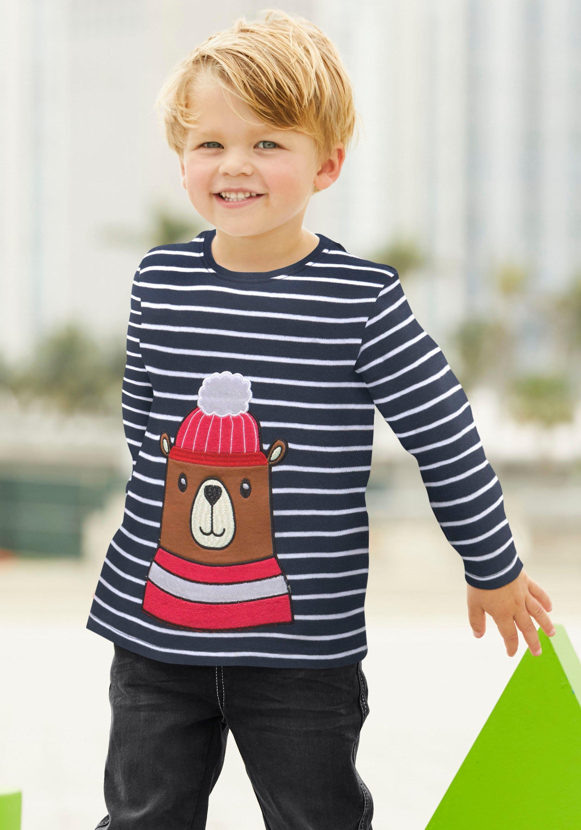 Op zoek naar een Klitzeklein shirt met lange mouwen »Interlockshirt«? Koop online bij OTTO