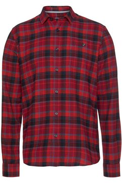 rhode island flanellen overhemd rood