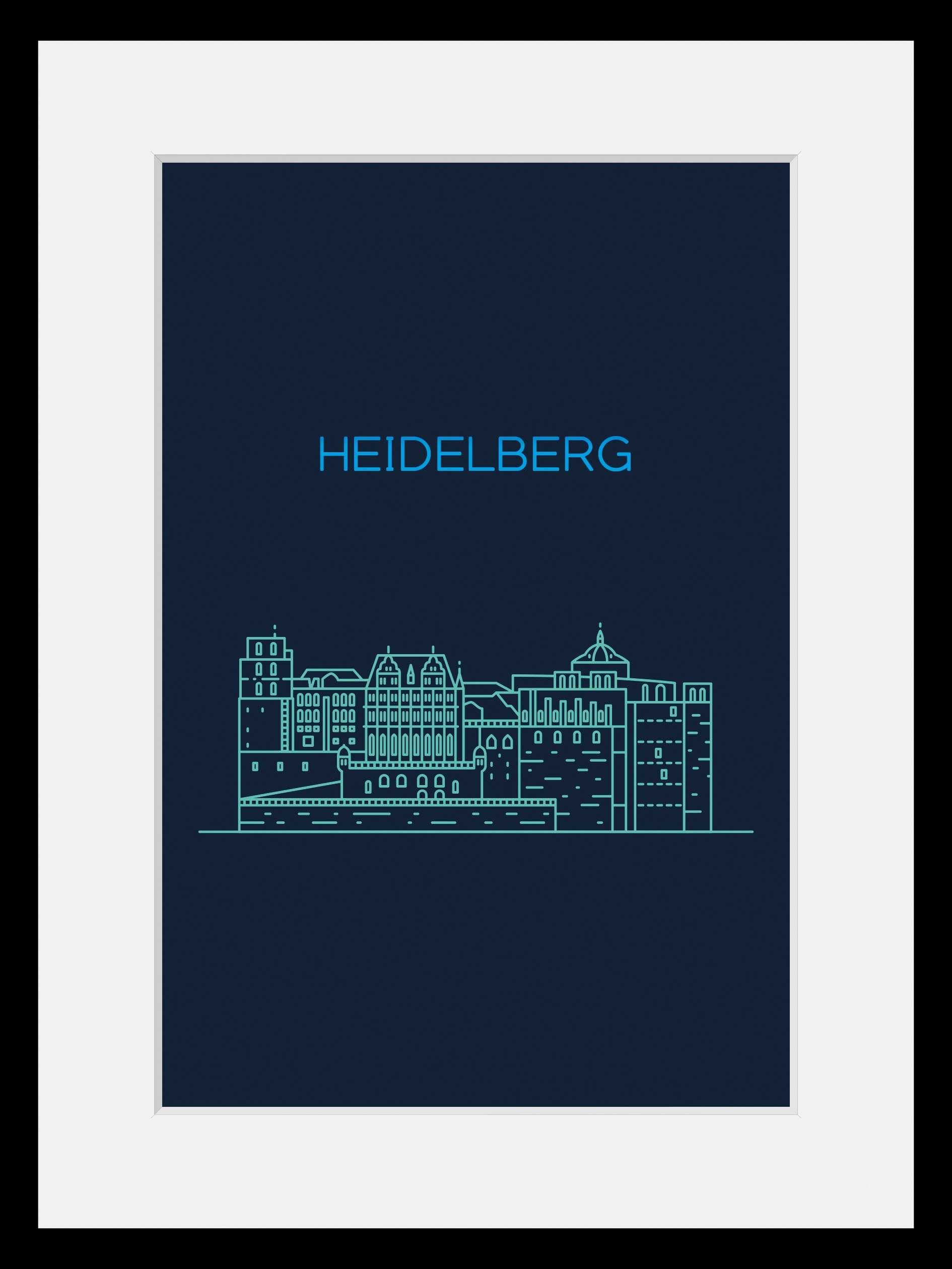 queence wanddecoratie Heidelberg sightseeing (1 stuk) veilig op otto.nl kopen