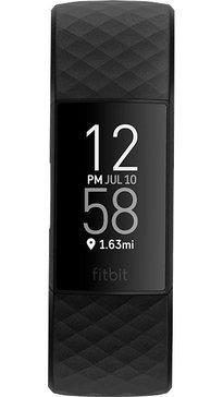 fitbit »charge 4« smartwatch zwart