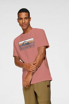 quiksilver t-shirt »dreamers of the shore« bruin