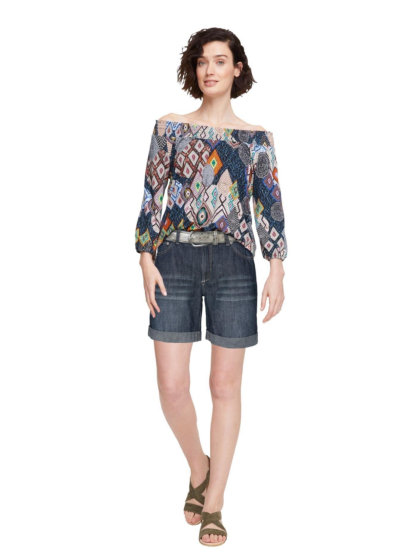 LINEA TESINI by Heine shirt met carmenhals in de webshop van OTTO kopen