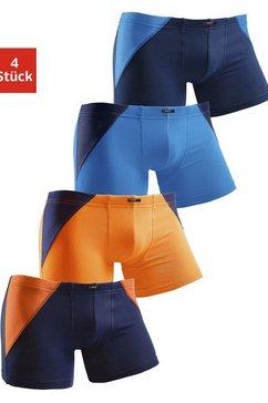 h.i.s boxershort met coole colourblocking voor een sportieve verschijning (4 stuks) multicolor