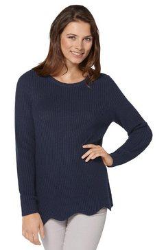 ambria gebreide trui blauw