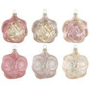 thueringer glasdesign kerstversiering »deluxe« roze