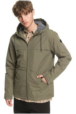 quiksilver parka »waiting period« groen