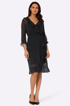 lady volantjurk jurk zwart