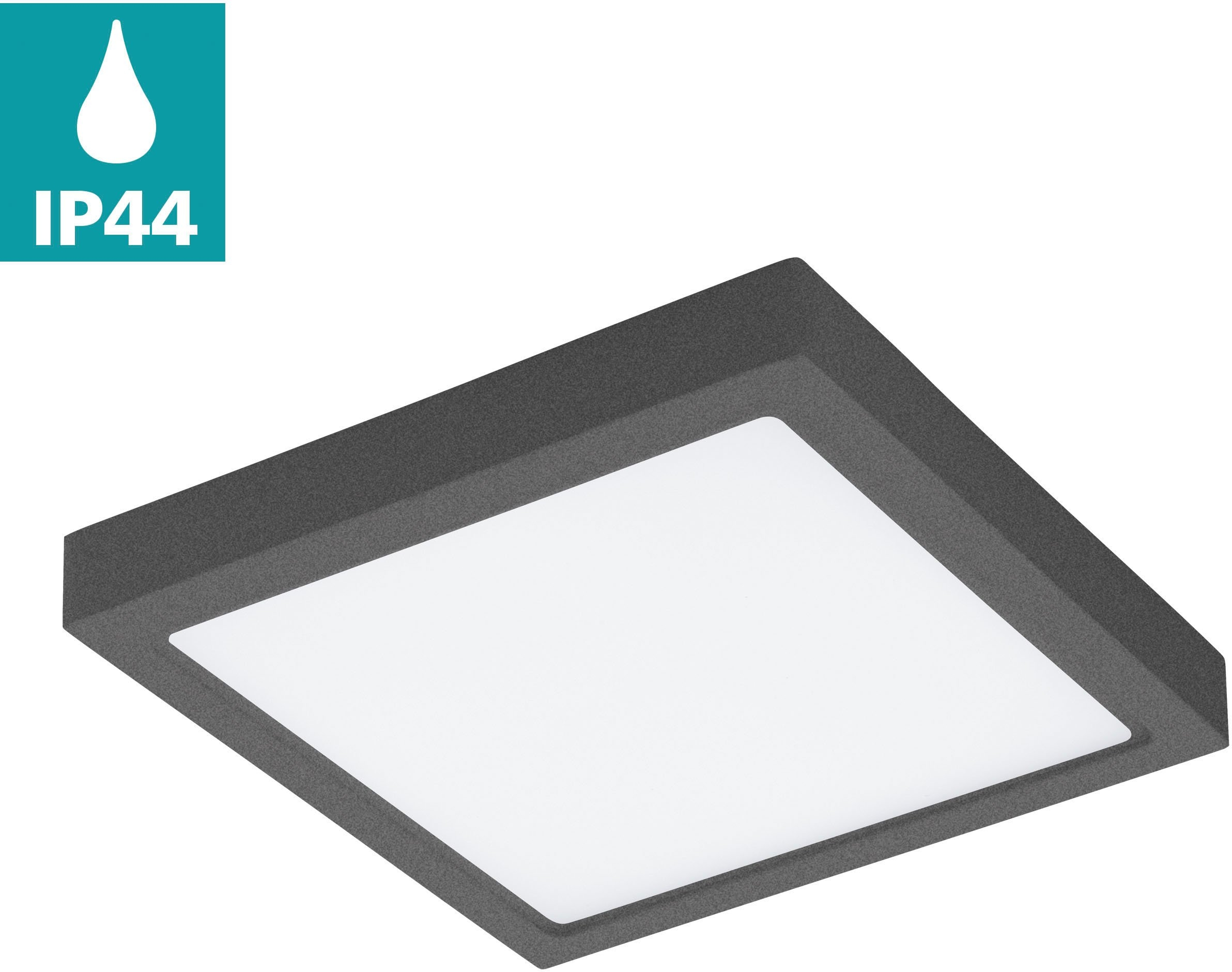EGLO led-plafondlamp voor buiten ARGOLIS vierkant voordelig en veilig online kopen