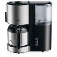 braun filterkoffieapparaat id collection koffiezetapparaat kf 5105 bk zwart zwart