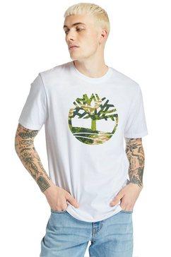 timberland t-shirt wit