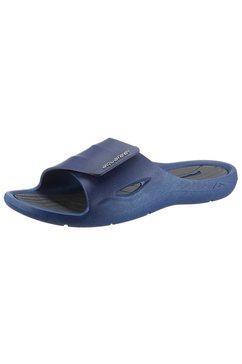 aquafeel badslippers met anatomisch gevormd voetbed blauw