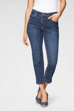 mac 7-8 jeans »angela summer« blauw