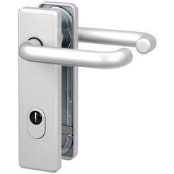 basi deurbeslag »es1 krukgarnituur aluminium zilver«, brandwerend deurbeslag fs 2200 zilver