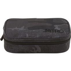 nitro etui »pencil case xl, forged camo« zwart