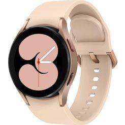 samsung smartwatch galaxy watch 4-small bt galaxy watch 4-40mm bt goud