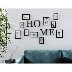 my home fotolijstje met belettering zwart