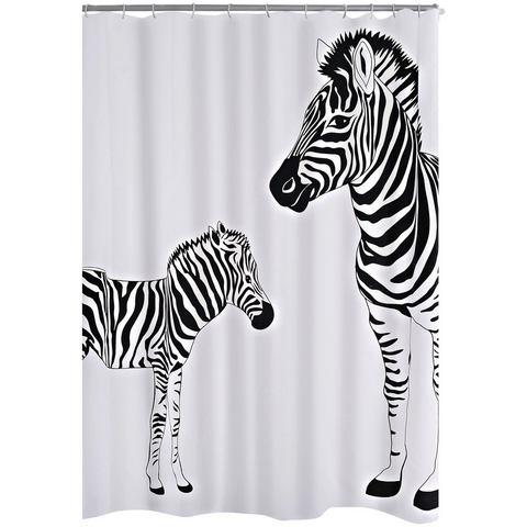 douchegordijn Zebra