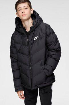 nike sportswear outdoorjack u nsw filled jacket zwart