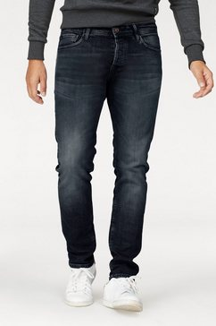 jack  jones slim fit jeans »glenn« blauw