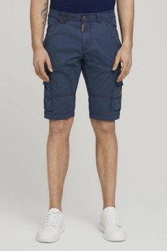 tom tailor short cargo bermuda blauw