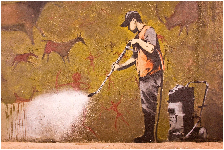Art & Pleasure metalen artprint Cleanmaster bij OTTO online kopen