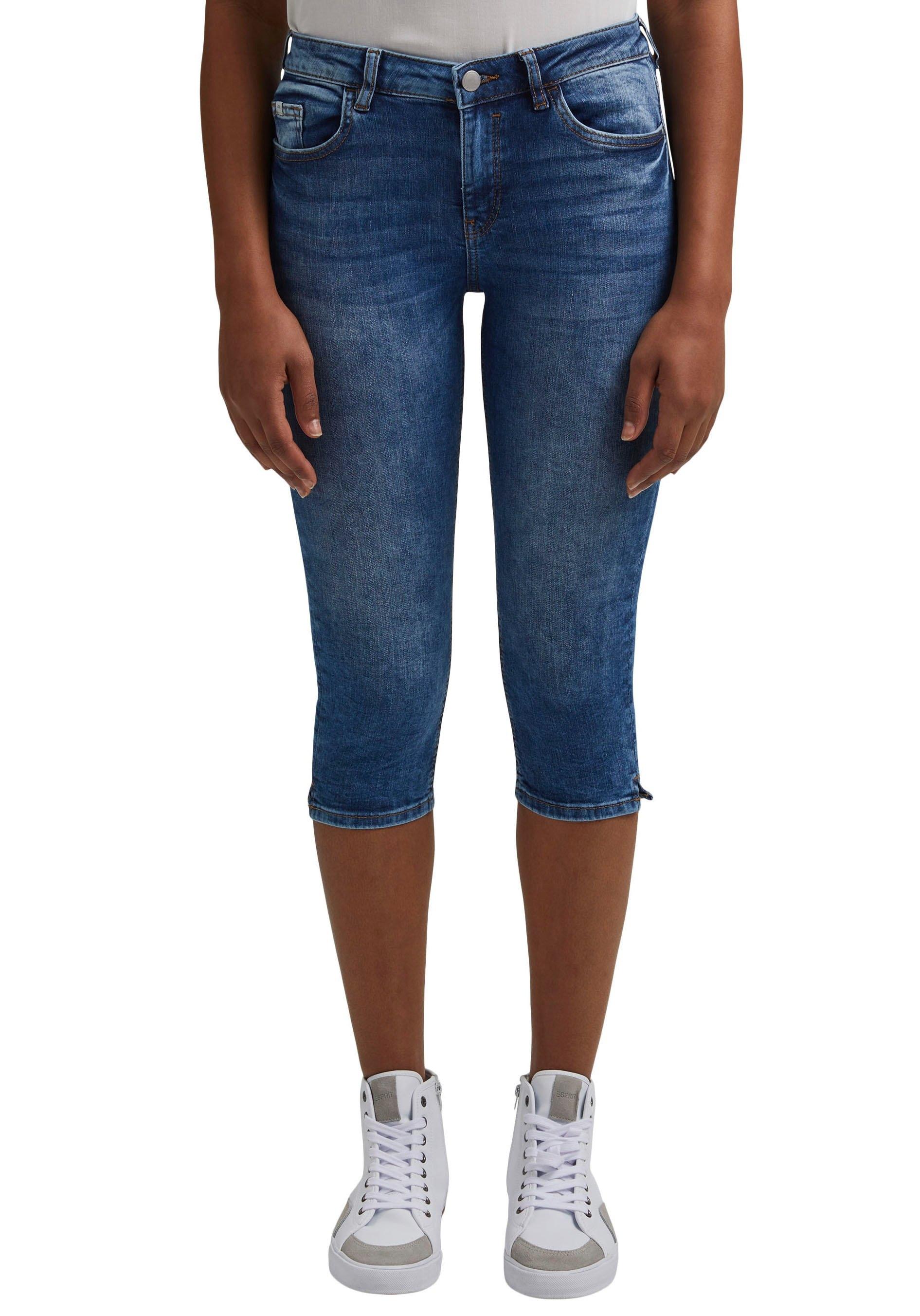edc by Esprit 3/4 jeans met splitjes opzij veilig op otto.nl kopen