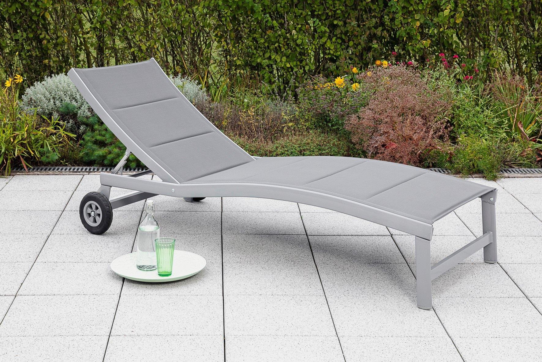 MERXX Ligstoel San Marino aluminium (1 stuk) in de webshop van OTTO kopen