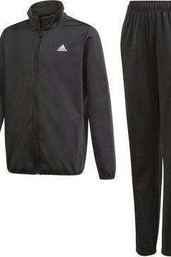 adidas performance trainingspak »boys training tracksuit« zwart