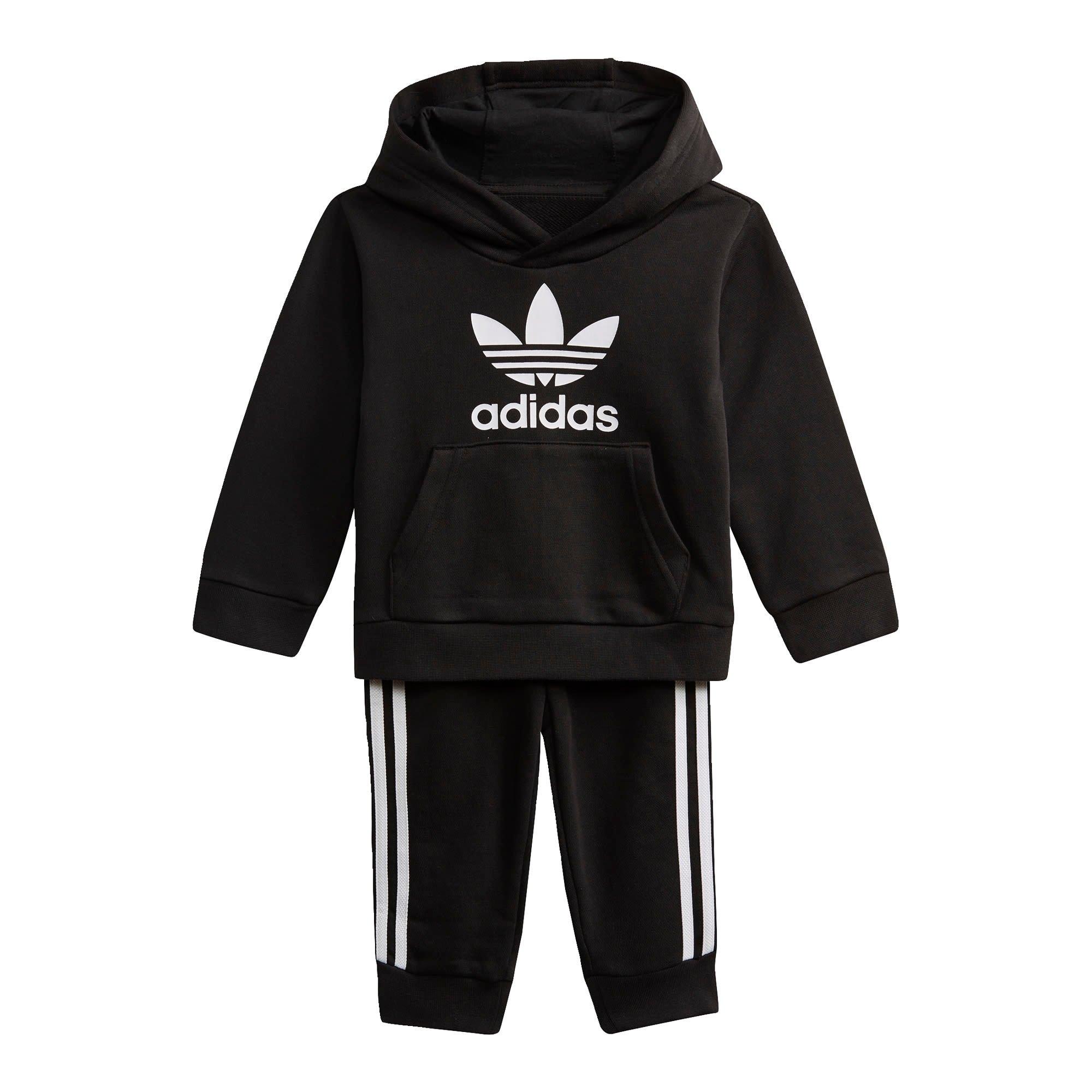 Op zoek naar een adidas Originals joggingpak TREFOIL HOODIE-SET Uniseks (set, 2-delig)? Koop online bij OTTO