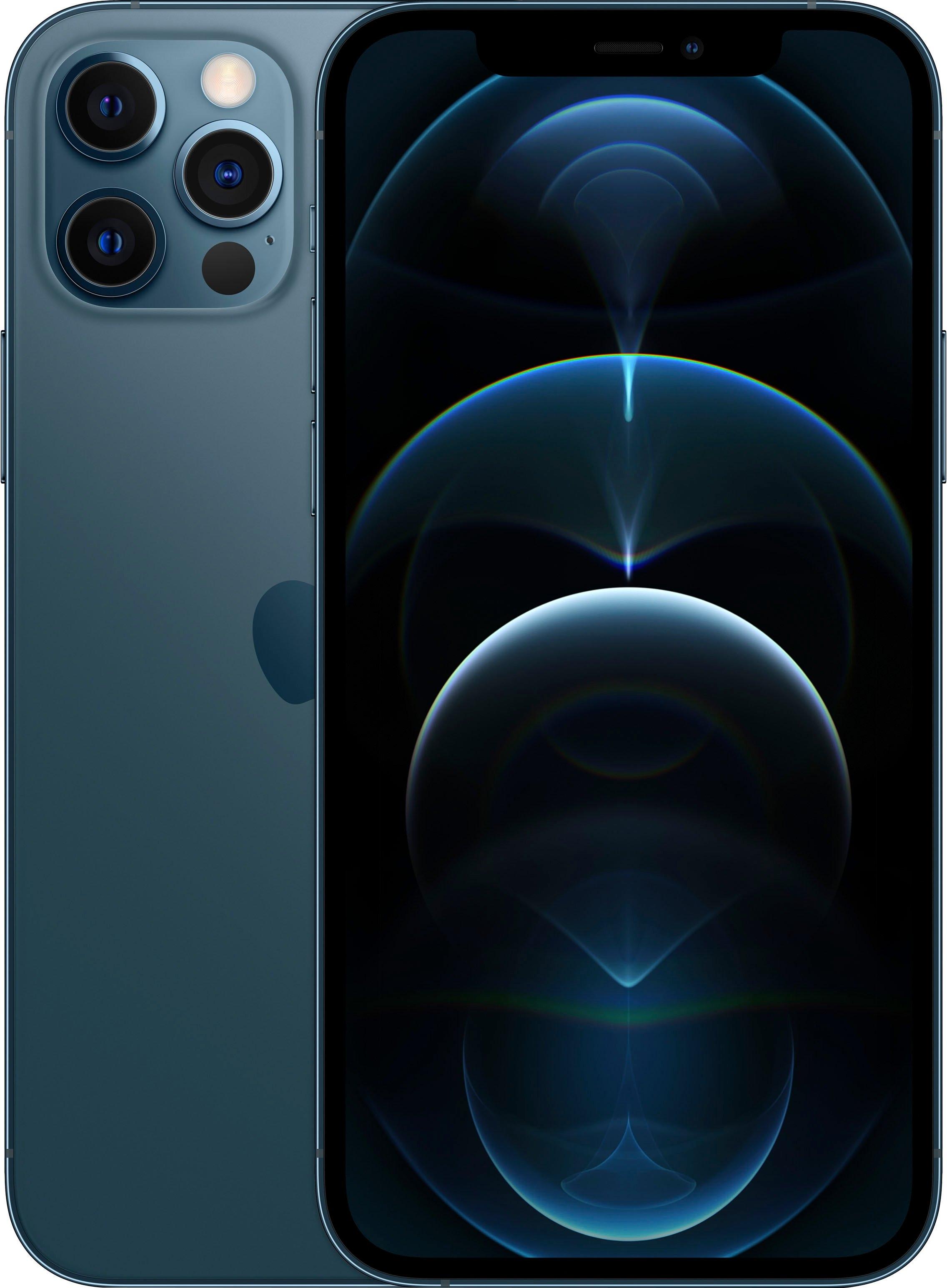 Apple smartphone IPhone 12 Pro, 128 GB, zonder stroom-adapter en hoofdtelefoon, compatibel met airpods, airpods pro, earpods hoofdtelefoon bij OTTO online kopen