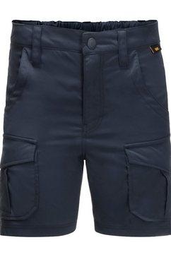 jack wolfskin cargoshort »treasure hunter shorts kids« blauw