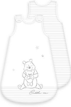 winnie the pooh babyslaapzak winnie pooh (1-delig) wit