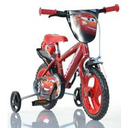 dino kinderfiets cars rood