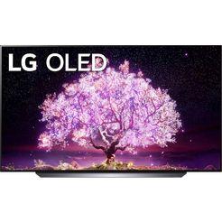 "lg oled-tv oled77c17lb, 195 cm - 77 "", 4k ultra hd, smart-tv zwart"